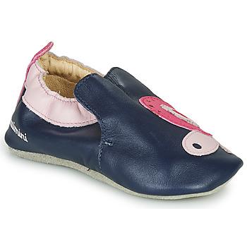 Schuhe Mädchen Hausschuhe Catimini CITOLA Marine / Rose