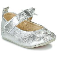 Schuhe Mädchen Hausschuhe Catimini CORIDA Silbern