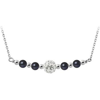 Uhren & Schmuck Damen Collier Blue Pearls BPS K045 W Multicolor