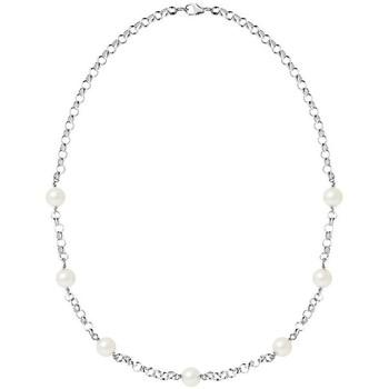 Uhren & Schmuck Damen Collier Blue Pearls BPS K041 W Multicolor