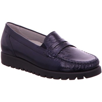 Schuhe Damen Slipper Waldläufer Slipper Taipei Lacl 549002-143/194 blau