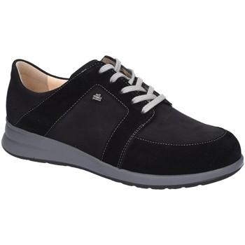 Schuhe Damen Sneaker Low Finn Comfort Schnuerschuhe Fasano 02280-901548 schwarz