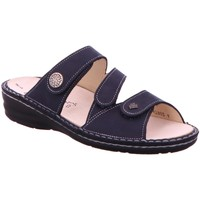 Schuhe Damen Pantoffel Finn Comfort Pantoletten 3430-046048 Lazise blau