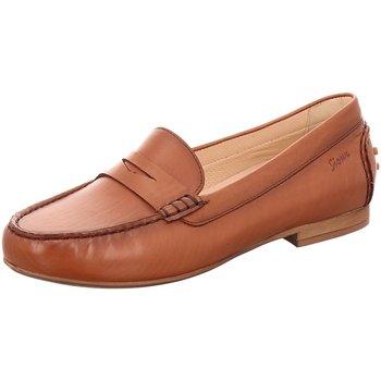Schuhe Damen Slipper Sioux Slipper 63170 braun