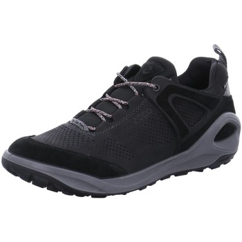 Schuhe Herren Sneaker Low Ecco Schnuerschuhe Outdoor H. Schnürer 801904/51052 schwarz