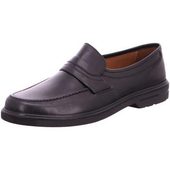 Schuhe Herren Slipper Sioux Business 28950 Peru schwarz