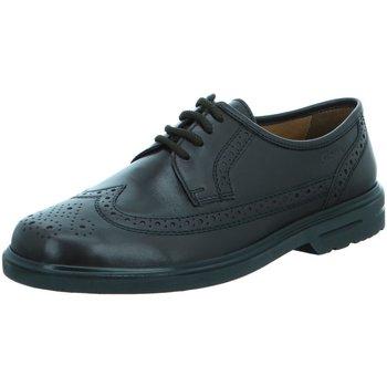 Schuhe Herren Derby-Schuhe & Richelieu Sioux Business 28447 Pacco schwarz