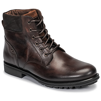 Schuhe Herren Boots André VARAPE Braun