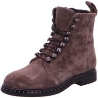 Schuhe Damen Boots Lamica Stiefeletten -66 582-LA 110 braun
