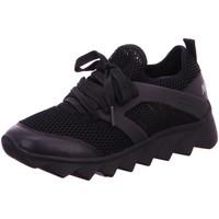 Schuhe Damen Sneaker Low Marc Cain Schnuerschuhe LB SH 71 L65-900 schwarz