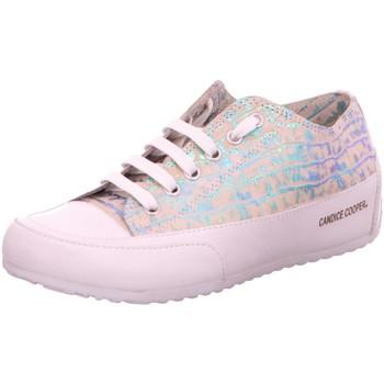 Schuhe Damen Sneaker Low Candice Cooper Schnuerschuhe 3104 Rock S02 silber