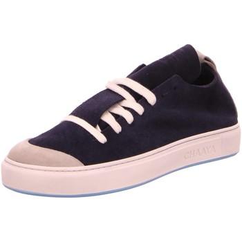 Schuhe Herren Sneaker Low Chaaya -00-88 Cha 18-014 Shakti Spider G. blau