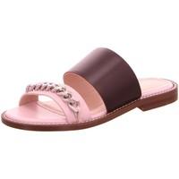 Schuhe Damen Pantoffel Marc Cain Pantoletten LB SG 51 L71-700 rosa