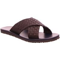 Schuhe Herren Pantoffel Nuovo Nicar Offene M 5728 braun