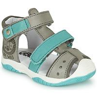 Schuhe Jungen Sandalen / Sandaletten GBB EUZAK Grau / Blau