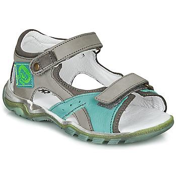 Schuhe Jungen Sandalen / Sandaletten GBB EROPE Grau / Blau