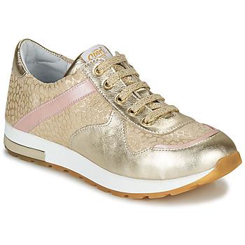Schuhe Mädchen Sneaker Low GBB LELIA Beige / Gold