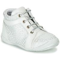 Schuhe Mädchen Sneaker High GBB OMANE Grau / Weiss
