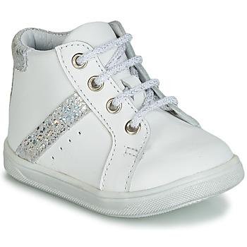 Schuhe Mädchen Sneaker High GBB AGLAE Weiss