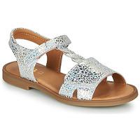Schuhe Mädchen Sandalen / Sandaletten GBB FARENA Silbern
