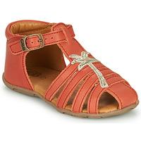 Schuhe Mädchen Sandalen / Sandaletten GBB ANAYA Korallenrot