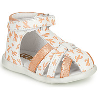 Schuhe Mädchen Sandalen / Sandaletten GBB AGRIPINE Orange