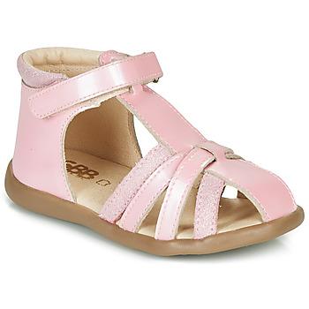 Schuhe Mädchen Sandalen / Sandaletten GBB AGRIPINE Rose