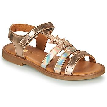 Schuhe Mädchen Sandalen / Sandaletten GBB OLGA Rose / Gold