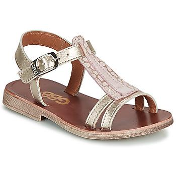 Schuhe Mädchen Sandalen / Sandaletten GBB LAZARO Gold