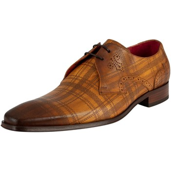 Schuhe Herren Derby-Schuhe Jeffery-West Lederschuhe braun