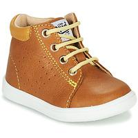 Schuhe Jungen Sneaker High GBB FOLLIO Cognac