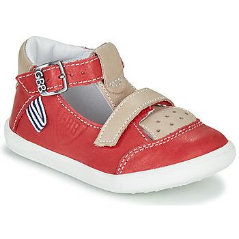Schuhe Jungen Sandalen / Sandaletten GBB BERETO Rot