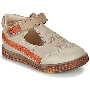 Schuhe Jungen Sandalen / Sandaletten GBB ANGOR Beige / Orange