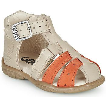 Schuhe Jungen Sandalen / Sandaletten GBB BORETTI Beige / Orange