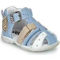 Schuhe Jungen Sandalen / Sandaletten GBB BYZANTE Blau / Grau