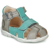 Schuhe Jungen Sandalen / Sandaletten GBB SEROLO Grau / Blau