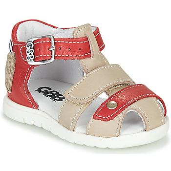Schuhe Jungen Sandalen / Sandaletten GBB BASILA Rot / Beige