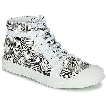 Schuhe Mädchen Sneaker High GBB NAVETTE Schwarz / Weiss