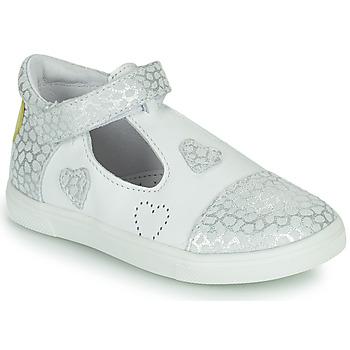 Schuhe Mädchen Ballerinas GBB ANISA Weiss