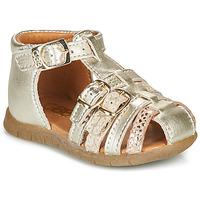 Schuhe Mädchen Sandalen / Sandaletten GBB PERLE Gold