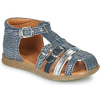 Schuhe Mädchen Sandalen / Sandaletten GBB PERLE Blau