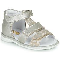 Schuhe Mädchen Sandalen / Sandaletten GBB NAVIZA Beige