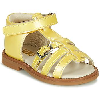 Schuhe Mädchen Sandalen / Sandaletten GBB ANTIGA Gelb