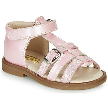 Schuhe Mädchen Sandalen / Sandaletten GBB ANTIGA Rose