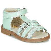 Schuhe Mädchen Sandalen / Sandaletten GBB ANTIGA Grün