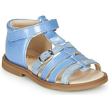 Schuhe Mädchen Sandalen / Sandaletten GBB ANTIGA Blau