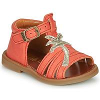 Schuhe Mädchen Sandalen / Sandaletten GBB ARAGA Korallenrot