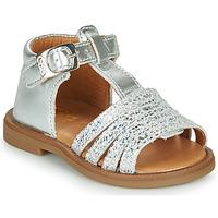 Schuhe Mädchen Sandalen / Sandaletten GBB ATECA Silbern