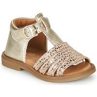Schuhe Mädchen Sandalen / Sandaletten GBB ATECA Gold