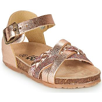Schuhe Mädchen Sandalen / Sandaletten GBB ALECTA Rose / Gold